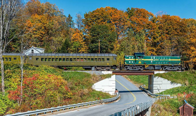 train tour of vermont